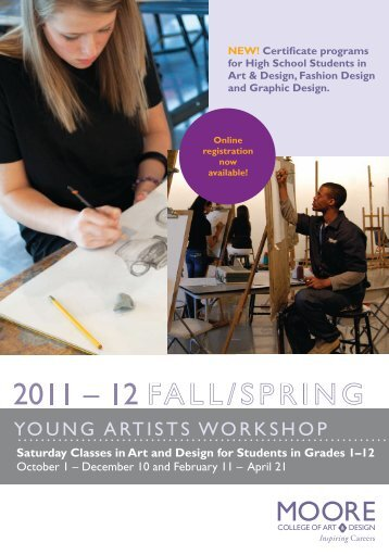 YOUNG ARTISTS WORKSHOP - Moore College of Art and Design