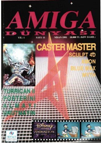 Amiga Dunyasi - Sayi 11 (Nisan 1991).pdf - Retro Dergi