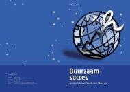 Duurzaam succes - VNO-NCW