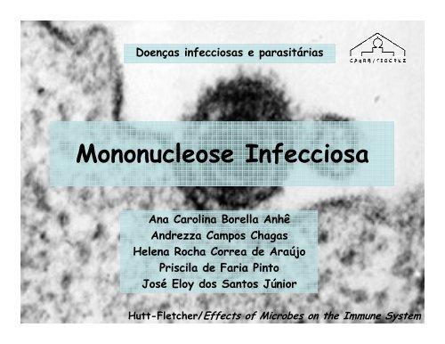 mononucleose infecciosa epidemiologia