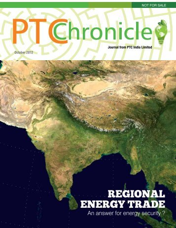 PTChronicle - October 2012 - PTC India Limited
