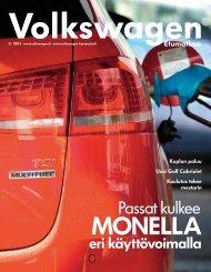 Passat kulkee - Volkswagen