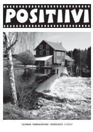 Positiivi 2/2010 - Suomen Kameraseurojen Liitto ry