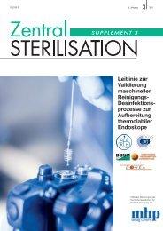 Leitlinie zur Validierung maschineller Reinigungs - Deutsche ...