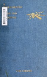 A bibliography of guns and shooting, being a list of ancient and ...