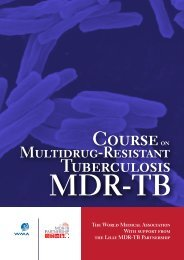 Course on Multidrug-Resistant Tuberculosis MDR-TB