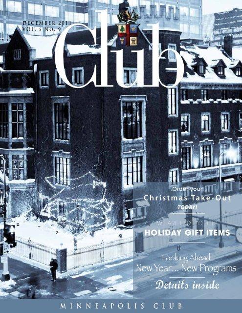 December - Minneapolis Club