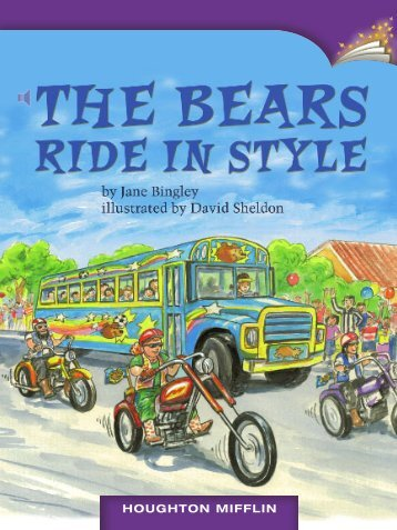 Lesson 3:The Bears Ride in Style