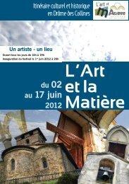 L'Art et la Matière - Romans
