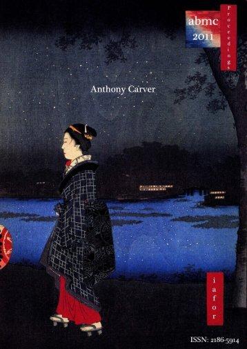 Anthony Carver - IAFOR