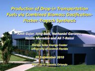 Production of Drop-in Transportation Fuels via Combined Biomass ...