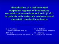 IL-21 - Society for Immunotherapy of Cancer