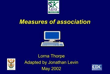 The Basic Tools of Analytic Epidemiology: Measures of association