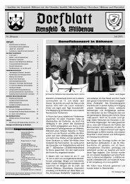 Dorfblatt Juli 2005.indd - Gemeinde Mildenau