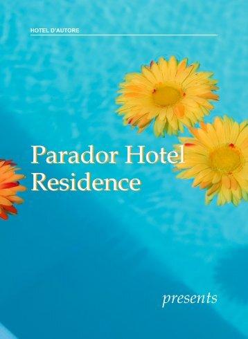 E-book download - Hotel Parador Residence