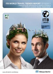 ITB World Travel Trends Report 2010/2011 (PDF, 704.5 ... - ITB Berlin
