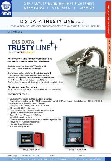 TRUSTY LINE - Wosta Tresore