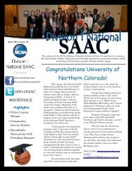 June SAAC Newsletter Issue 16