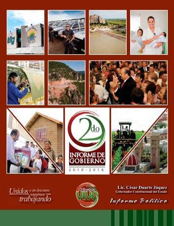 Informe Político - Gobierno del Estado de Chihuahua