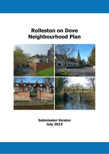 Rolleston-on-Dove NP - Submission Version