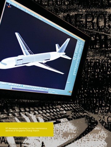 ST Aerospace launched our line maintenance services at Singapore ...