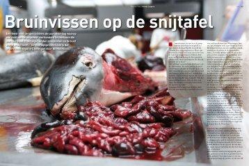 Bruinvissen op de snijtafel - Wageningen UR