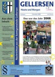 Mitteilungsblatt 12/2008 - Samtgemeinde Gellersen