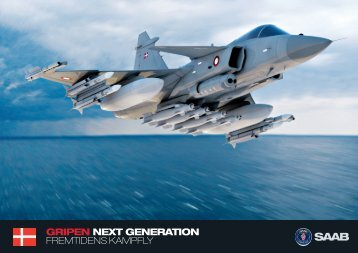 GRIpEN NEXT GENERATION fremtidens kampfly - Saab