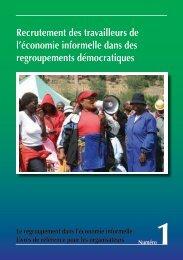 Recrutement des travailleurs de l'économie ... - Inclusive Cities