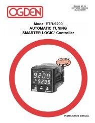 ETR-9200 Automatic Tuning Smarter Logic ... - Iprocess Smart