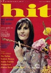 HIT Nr. 7 vom Juli 1968