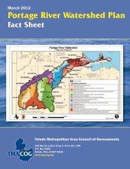 Portage River Watershed Plan - Toledo Metropolitan Area Council of ...