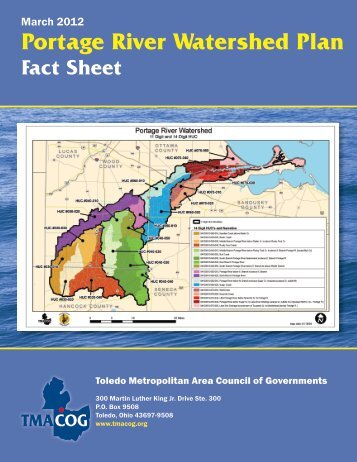 Portage River Watershed Plan - Toledo Metropolitan Area Council of ...
