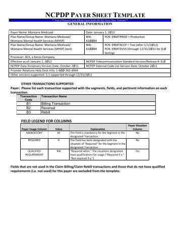 payer sheet template pharmacy benefits management