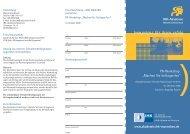 Info-Broschüre - Dialog Marketing - Angelika Putsch