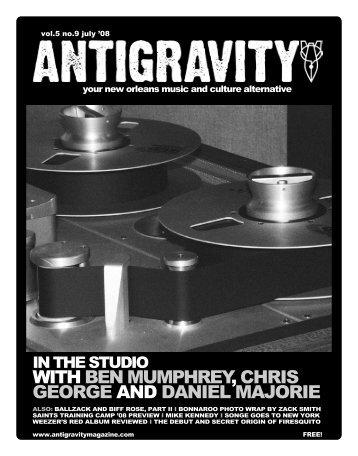 July 2008 (PDF) - Antigravity Magazine