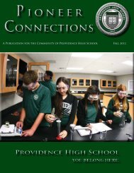 Pioneer Connections Fall 2012.pdf - Providence High School