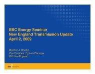 EBC Energy Seminar New England Transmission Update April 2 ...