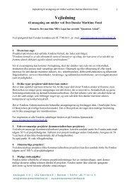 Vejledning til ansøgning (PDF) - Den Danske Maritime Fond