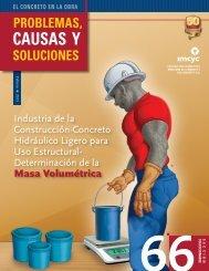 Masa Volumétrica - Instituto Mexicano del Cemento y del Concreto