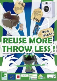 Three Years of the award winning Waste Watchers campaign - Rreuse