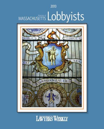 to download a PDF of the 2013 directory. - Massachusetts Lawyers ...