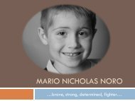 Mario Nicholas Noro - Main Home Page