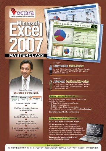 Microsoft Excel 2007 Masterclass - Octara.com