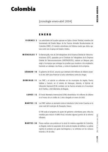 Colombia - Hecho Histórico