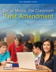 Social Media, the Classroom and the First Amendment - WordPress ...
