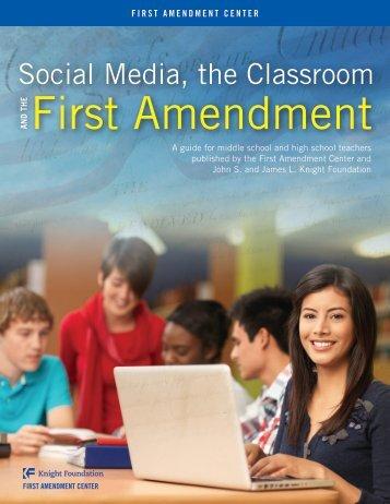 Social Media, the Classroom and the First Amendment - WordPress ...