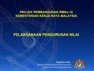 Value Management in RMKe-10 - Kementerian Kerja Raya Malaysia