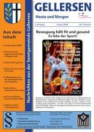 Mitteilungsblatt 08/2008 (pdf 4,08 MB) - Samtgemeinde Gellersen