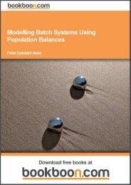 Modelling Batch Systems Using Population Balances - Tutorsindia
